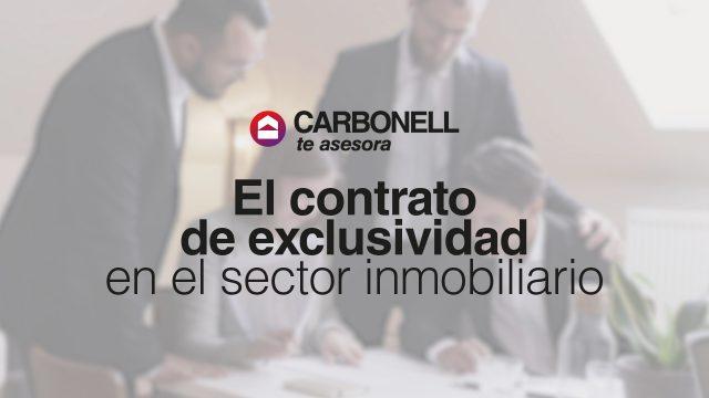 El contrato de exclusividad en el mercado inmobiliario