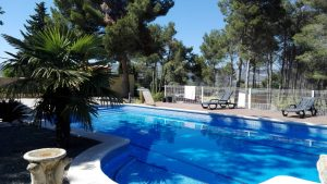 charmy two floors villa in ontinyent