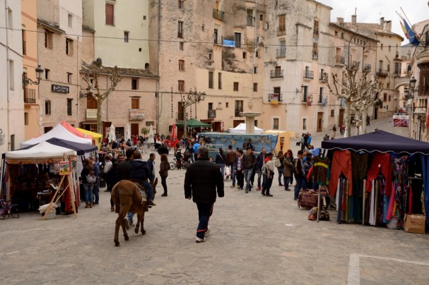 Easter Fair in Bocairent's main square