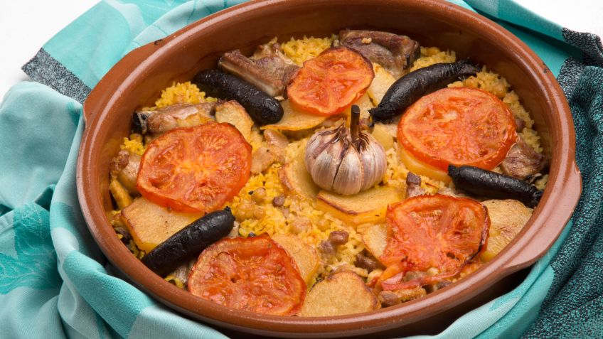 """Arròs al forn"", very typical in Ontinyent"