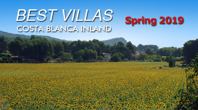 Best Villas in Costa Blanca Inland from Carbonell Real Estate