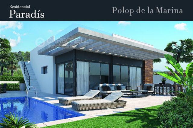 Residencial Paradís in Polop de la Marina (Alicante)