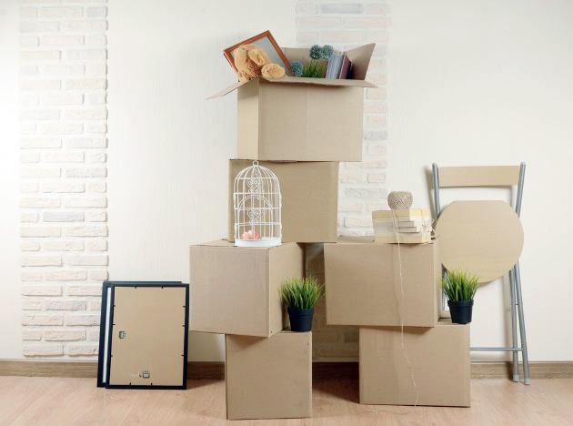 cajas para la mudanza