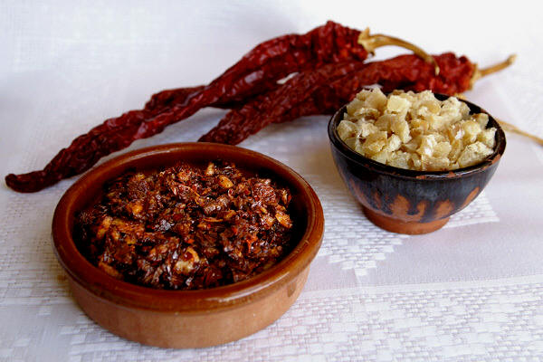 Pericana, top star dish in Alcoy and Cocentaina