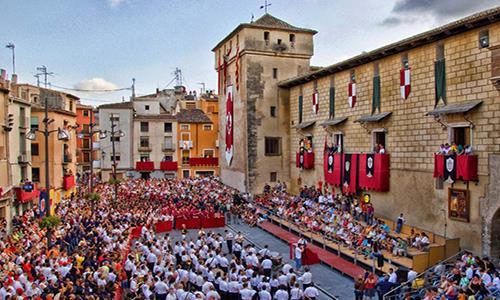 Actos oficiales por el fin de la Semana Santa en Cocentaina