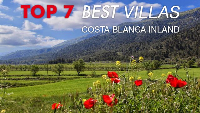 top 7 best villas in costa blanca inland
